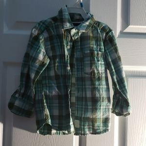 Toddler boy button down shirt